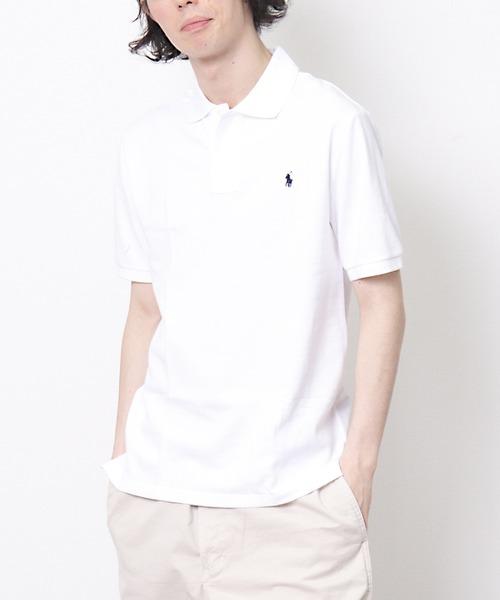 【 POLO RALPH LAUREN / ポロラルフローレン 】ロゴ刺繍 半袖ポロシャツ RYZ