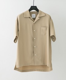 UNITED TOKYO(ユナイテッドトウキョウ)のサテンオープンカラーシャツ(シャツ/ブラウス)