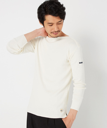 MORGAN HOMME(モルガンオム)のFILEUSE'D ARVOR ボートネック(Tシャツ/カットソー)