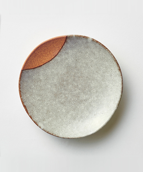 CULTURE BY DESIGN(カルチャーバイデザイン)の「MOON PLATE M / ムーン プレート Mサイズ(食器)」|グレー