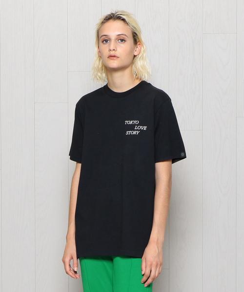 <rag & bone>TOKYO LOVE SHORT SLLEVE T-SHIRT/Tシャツ.