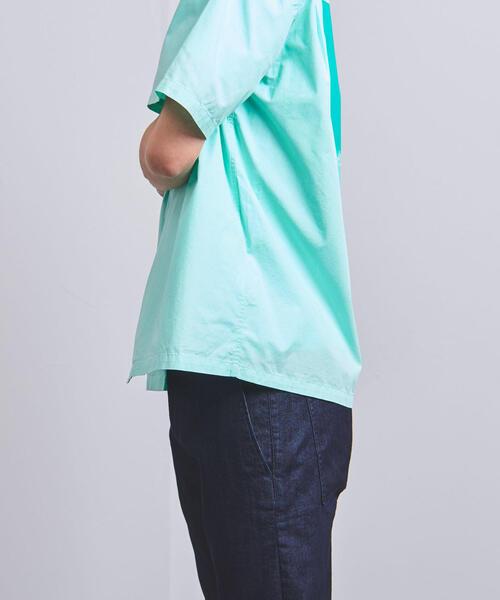 <CAMO(カモ)>オープンカラー シャツ