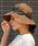 LEPSIM(レプシィム)の「ペーパーオリタタミHAT 824387(ハット)」|ダークブラウン