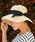 LEPSIM(レプシィム)の「ペーパーオリタタミHAT 824387(ハット)」|ライトベージュ