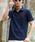 London Denim(ロンドンデニム)の「▼WEB限定【London Denimオリジナル】ライオン刺繍入り / 鹿の子 ポロシャツ(半袖)(ポロシャツ)」 詳細画像