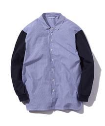 rehacer(レアセル)のrehacer : Fusion Stripe Shirt Made in Japan / フュージョン ストライプ シャツ メイドインジャパン(シャツ/ブラウス)