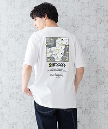 【OUTDOOR PRODUCTS × Mark Gonzales】バックプリント コラボTシャツその他2