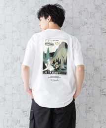 【OUTDOOR PRODUCTS × Mark Gonzales】バックプリント コラボTシャツホワイト系その他
