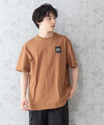 【OUTDOOR PRODUCTS × Mark Gonzales】バックプリント コラボTシャツブラウン