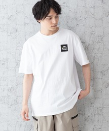 【OUTDOOR PRODUCTS × Mark Gonzales】バックプリント コラボTシャツホワイト