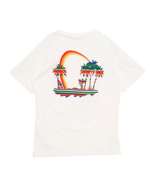 バイオウォッシュ加工クルーネック半袖Tシャツ / CAST18-110