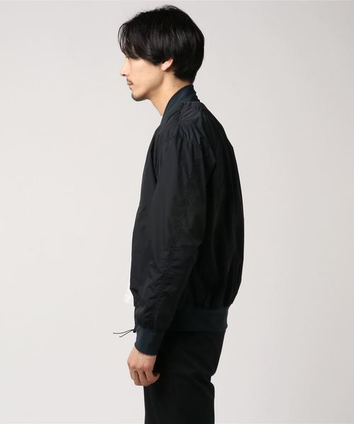 N.HOOLYWOOD SPRING & SUMMER 2019 COLLECTION LINE ZIP UP BLOUSON
