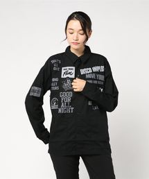 LOGO PATCH 長袖オーバーシャツ