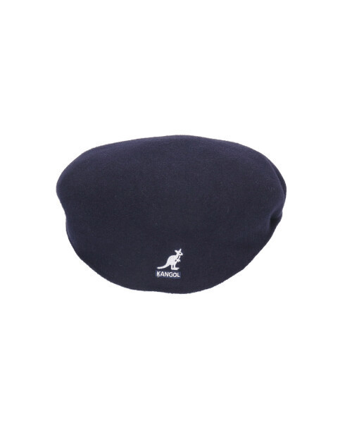 KANGOL(カンゴール)の「【KANGOL】HUNTING WOOL 504 カンゴール ウール ハンチング(ハンチング/ベレー帽)」|ネイビー