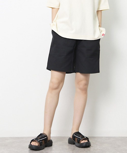 【 MONTKEMMEL / モンケメル 】CHEF SHORT PANTS シェフショーツ