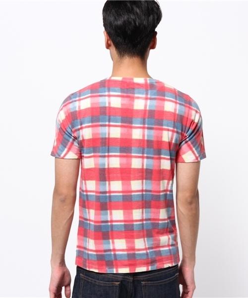 SCOTTISH CHECK TEE / スコティッシュ チェック ティーシャツ