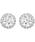 SWAROVSKI(スワロフスキー)の「【スワロフスキー】Angelic ピアス、ロジウム・コーティング(ピアス(両耳用))」|シルバー