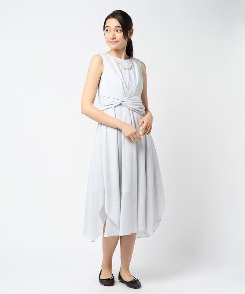 (お得な特別割引価格) 【セール】アクセサリー付イレヘムドレス(9R04-61610)(ドレス)|Rewde(ルゥデ)のファッション通販, キラキラピアス:20eba132 --- pyme.pe