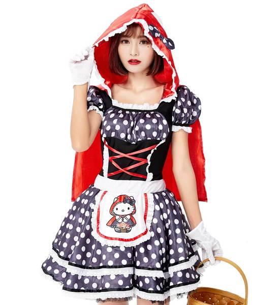 コスプレ·ハロウィン衣装/赤ずきんB