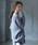 CRAFT STANDARD BOUTIQUE(クラフトスタンダードブティック)の「抜け衿ニットプルオーバー〇*(ニット/セーター)」 杢グレー