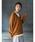 CRAFT STANDARD BOUTIQUE(クラフトスタンダードブティック)の「抜け衿ニットプルオーバー〇*(ニット/セーター)」 マスタード