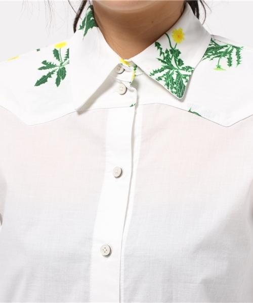[MEW New York / ミーウニューヨーク] タンポポヨーク切り替えシャツ