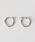 BEAUTY&YOUTH UNITED ARROWS(ビューティアンドユースユナイテッドアローズ)の「BY K10 パイプフープピアス/2.0x15 ¨(ピアス(両耳用))」 シルバー