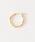 BEAUTY&YOUTH UNITED ARROWS(ビューティアンドユースユナイテッドアローズ)の「BY K10 パイプフープピアス/2.0x15 ¨(ピアス(両耳用))」 詳細画像