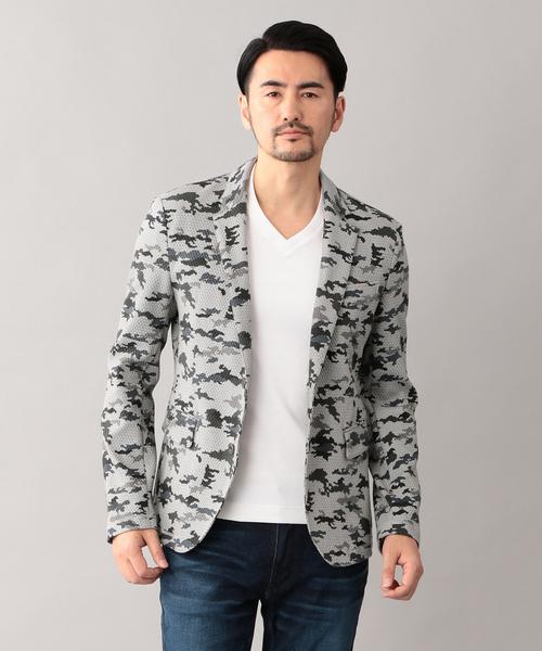 手数料安い カモフラプリント ジャケット, yamaguchiきらら特産品 d051d143