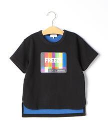 【キッズ】Wフェイス FREEZE Tシャツ