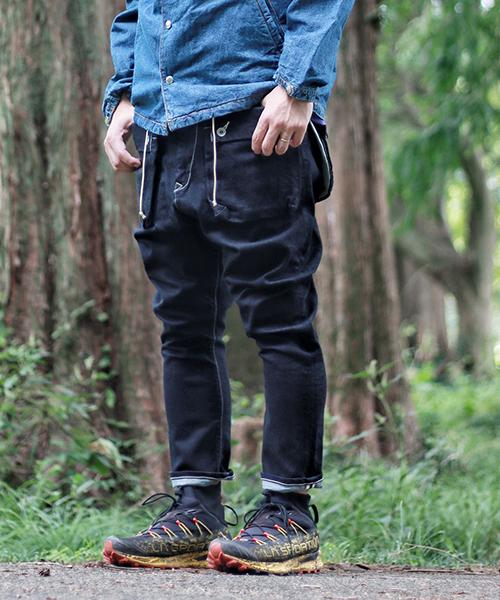 格安人気 【ネイタルデザイン Sarouel】G55サルエルフラップデニムパンツ(ワンウォッシュ)/ G55 Sarouel Flap Denim G55 Pants/ ONE WASH(デニムパンツ)|NATAL DESIGN(ネイタルデザイン)のファッション通販, 総合商社チャンピオン:bee35b24 --- skoda-tmn.ru