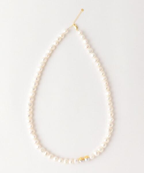 <Preek>BAROQUE PEARL NECKLACE 70/ネックレス