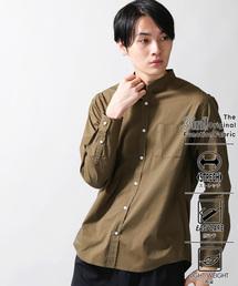 WEGO(ウィゴー)のWEGO/3メリットバンドカラーシャツ(シャツ/ブラウス)