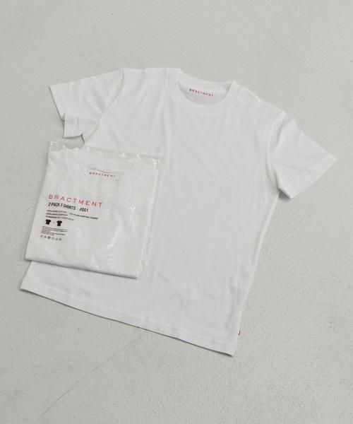 『BRACTMENT(ブラクトメント)』コットン PACK Tシャツ 2P Set