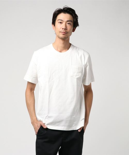 ロゴバックプリントTシャツ