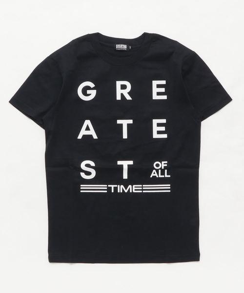 天竺シルケット加工 GREATEST Tシャツ(140~160cm)