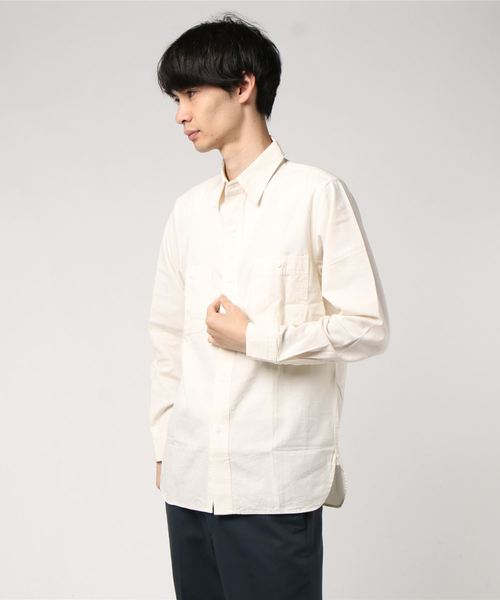 OAXACA / オアハカ バンダナ キャンプシャツ