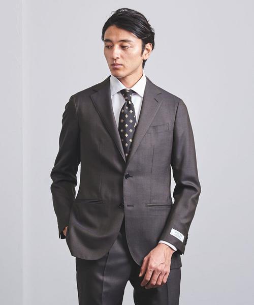 <UNITED ARROWS> シャドウ グレンチェック 2B スーツ