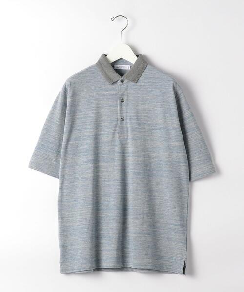 CSM コンビカラー ポロシャツ 半袖