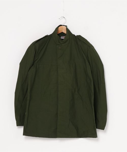 【 DEAD STOCK  Swedish army / スウェーデン軍  】M-84 フィールドジャケット