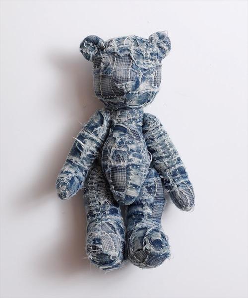 FDMTL/ファンダメンタル/BORO TEDDY BEAR