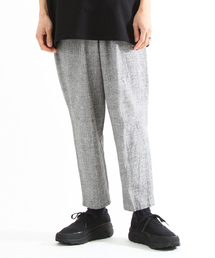 PORT BY ARK(ポートバイアーク)のPORT BY ARK / ポートバイアーク:Glen check easy trousers:P-003-P02004[COR](パンツ)