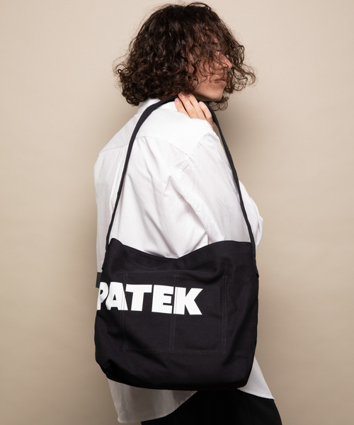 ADAM PATEK CANVAS SHOULDER BAG