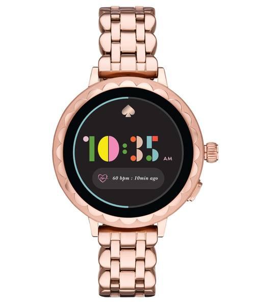 【値下げ】 【タッチスクリーンスマートウォッチ】scallop smartwatch 2 spade KST2010(腕時計) kate|kate spade new ステーション york(ケイトスペード ニューヨーク)のファッション通販, e-花屋さん:f48514ff --- 888tattoo.eu.org