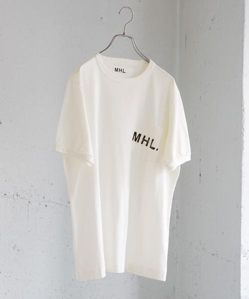 MHL.×URBAN RESEARCH 別注PRINTED T-SHIRTS