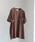 MHL.(エムエイチエル)の「MHL.×URBAN RESEARCH 別注PRINTED T-SHIRTS(Tシャツ/カットソー)」|ボルドー