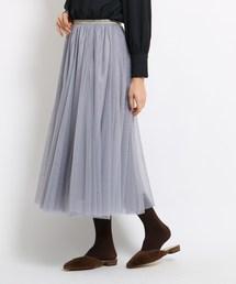 AG by aquagirl(エージーバイアクアガール)の【Lサイズあり】チュールスカート(スカート)