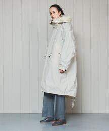 <ATON × H>FISHTAIL COAT/コート.
