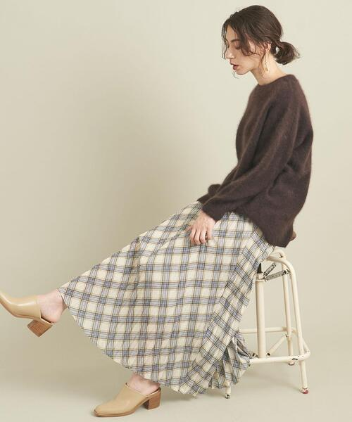 【WEB限定】by ※チェックプリーツスカート -ウォッシャブル- ∴