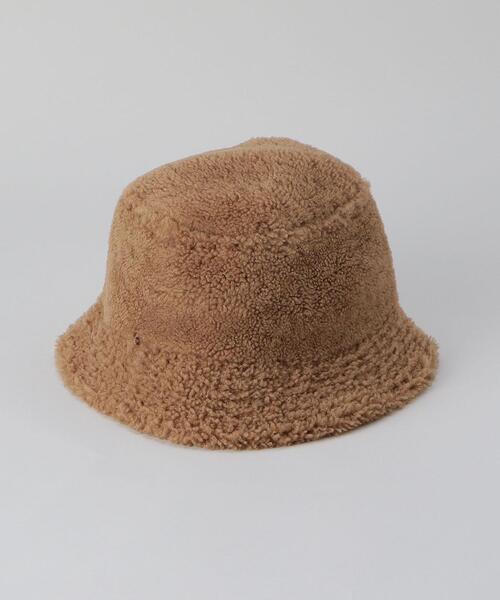 <YVES SALOMON>MOUTON BUCKET HAT/ハット.